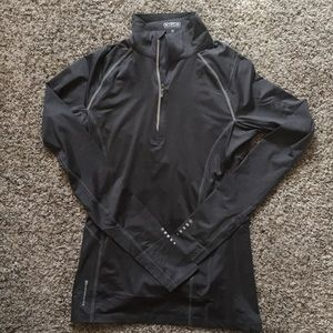 Running quarter zip jacket